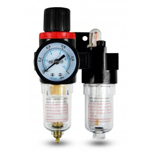 Maznica regulátora dehydratátora filtra FRL 1/4 palca nastavená na vzduch AFC2000