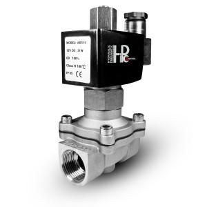 Elektromagnetický ventil otvorený 2N15 NO 1/2 palca z nehrdzavejúcej ocele SS304 230V alebo 12V, 24V, 48V