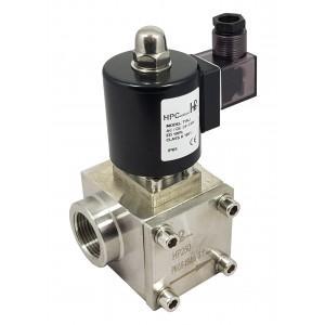 Vysokotlakový elektromagnetický ventil HP250 150 bar