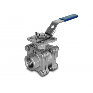 Vysokotlakový guľový ventil 1 palec DN25 PN125