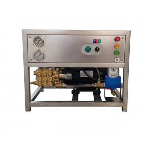 Nastaviť čerpadlo a motor na rám na umývanie pomocou príslušenstva 13 l / min, ekvivalent 150 barov CAT350