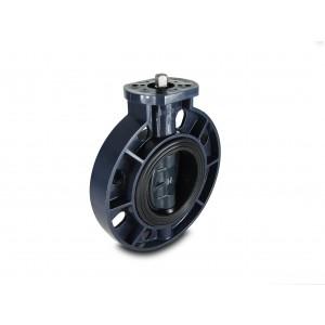 Motýľový ventil, škrtiaca klapka UPVC DN200