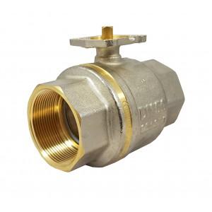 Guľový ventil 1 1/2 palca DN40 PN25 montážna doska ISO5211